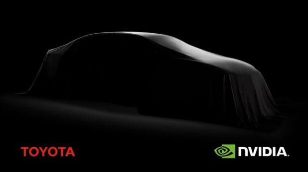 トヨタがNVIDIAと提携、自動運転
