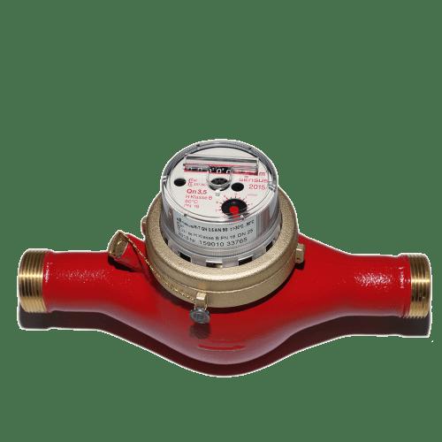 Счетчик горячей воды (сухоход) M-T для систем горячего водоснабжения (до 90 °C)