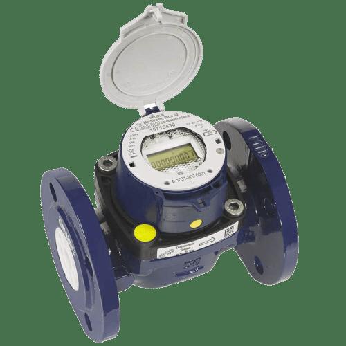 Турбінний лічильник холодної води MeiStream PlusRF з вбудованим радіомодулем та електронним лічильним механізмом eRegister