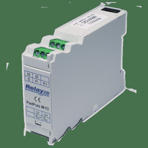 PadPuls M1C - Одноканальный импульсный преобразователь в исполнении для установки на DIN-планку
