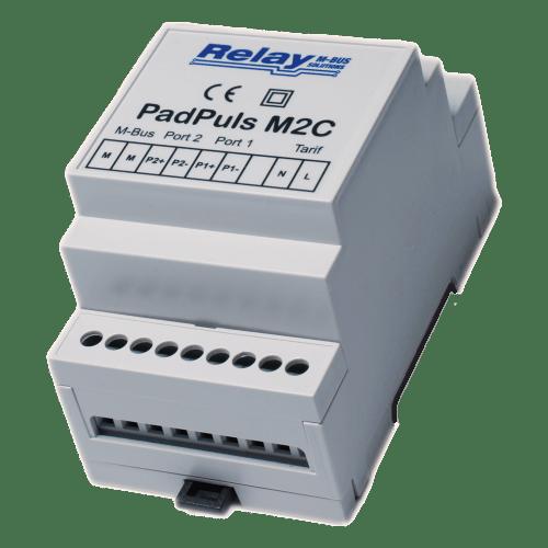PadPuls M2C - Двоканальний імпульсний перетворювач для монтажа на DIN - планку