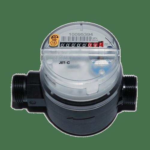 Квартирный одноструйный счетчик воды Sensus ResidiaJet C
