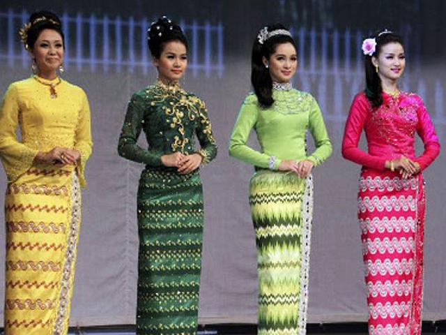 Myanmar: Longyi