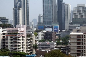 Bangkok buildings