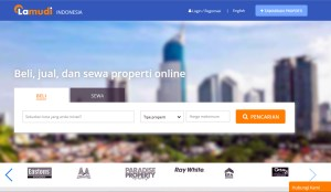 Lamudi's property portal expands in Indonesia to create new revenue opportunities also for Ooredo. (Screenshot)