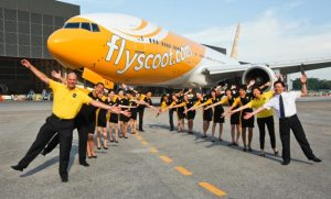 Best low-cost airline: Singapore's Scott