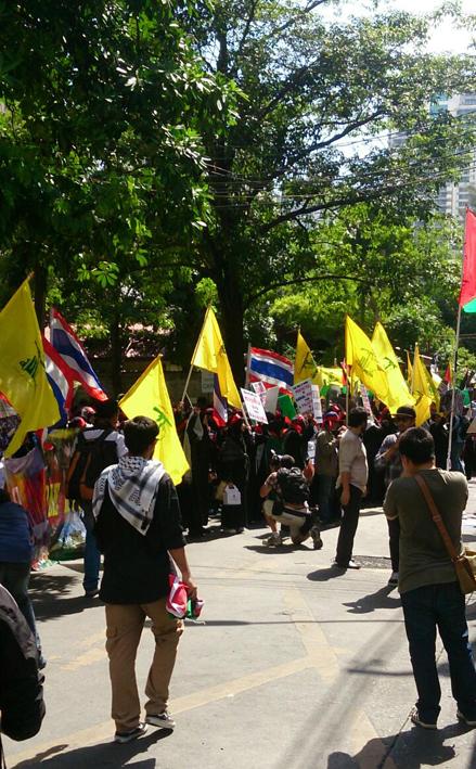 Palestine protests Bangkok2_Arno Maierbrugger