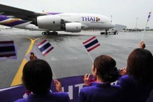 Thai Airways flags