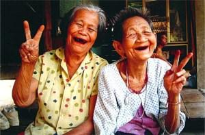 Old Thai women