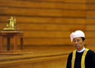 Tensions mount ahead of Myanmar elections after dismissal of ruling party chief