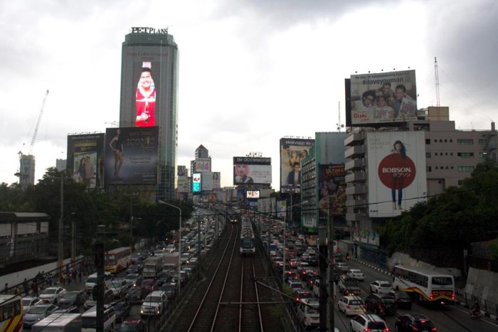 EDSA's nightmarish traffic only exacerbates hardships for Manila's long suffering commuters