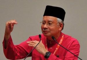 Najib-Razak gesture