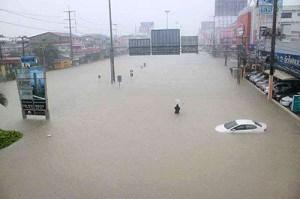 pattaya flooding