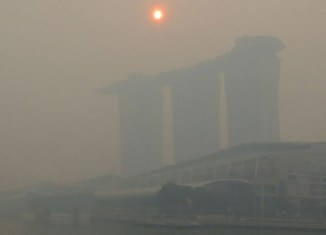 Singapore haze reaching highly unhealthy levels