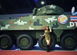 Thailand to build its own military equipment