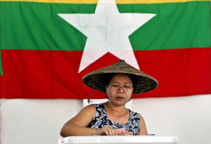 Myanamr elections