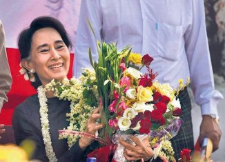 Suu Kyi can choose new Myanmar president
