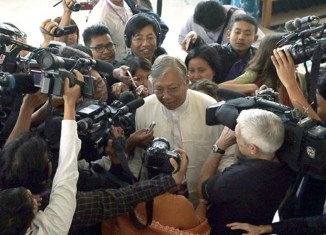 Myanmar's new president chosen in historic vote