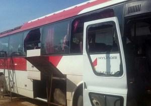 Laos bus attack