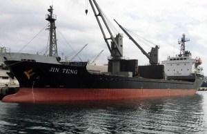 North Korea vessel MV Jin Teng