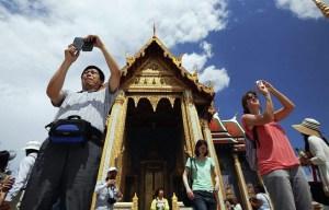 Tourists in Bangkok