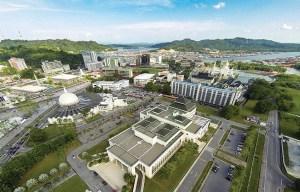 Brunei panorama