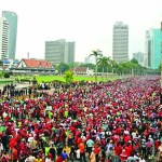 Massive street protests against new tax in Malaysia