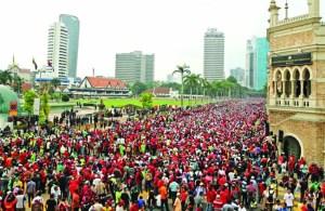 Kuala Lumpur anti-GST protest