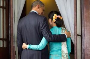 Obama_Suu Kyi