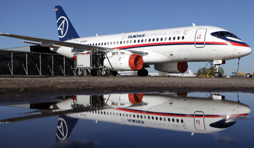 Brunei shows interest in purchasing Russian Sukhoi Superjets