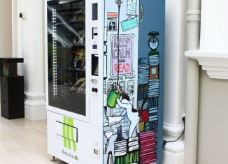 Singapore introduces book vending machines