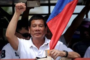 Duterte ahead of inauguration
