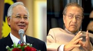 Najib and Mahatir