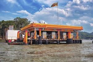Brunei Shell gas station