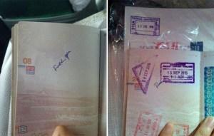 Chinese passport FY