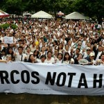 Philippine protesters oppose Marcos' 'hero' burial