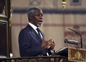 Kofi Annan chosen to help find solution for Myanmar's Rohingya issue