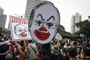 Malaysia 1MDB student protest