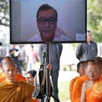 Cambodia opposition leader officially banned from entering the country