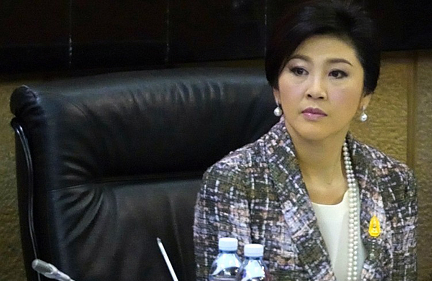 Former Thai PM Yingluck slapped with $1-billion fine