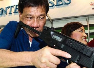 US stops arms sales to Philippines