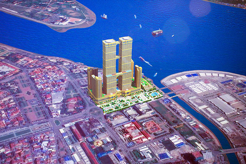 Construction set to begin for world's tallest twin tower in Phnom Penh