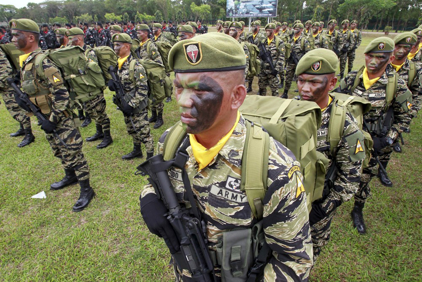 Philippine army gets involved in anti-drug war