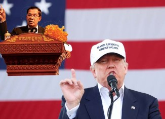 Cambodia PM sides with Donald Trump in attacking media