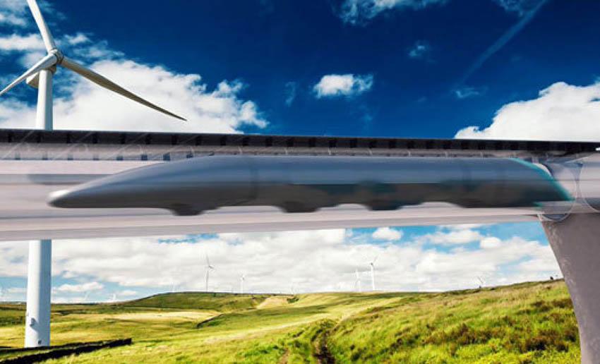"Indonesia eyed for futuristic ""hyperloop"" transport service"
