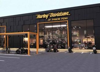 Harley-Davidson rides into Cambodia