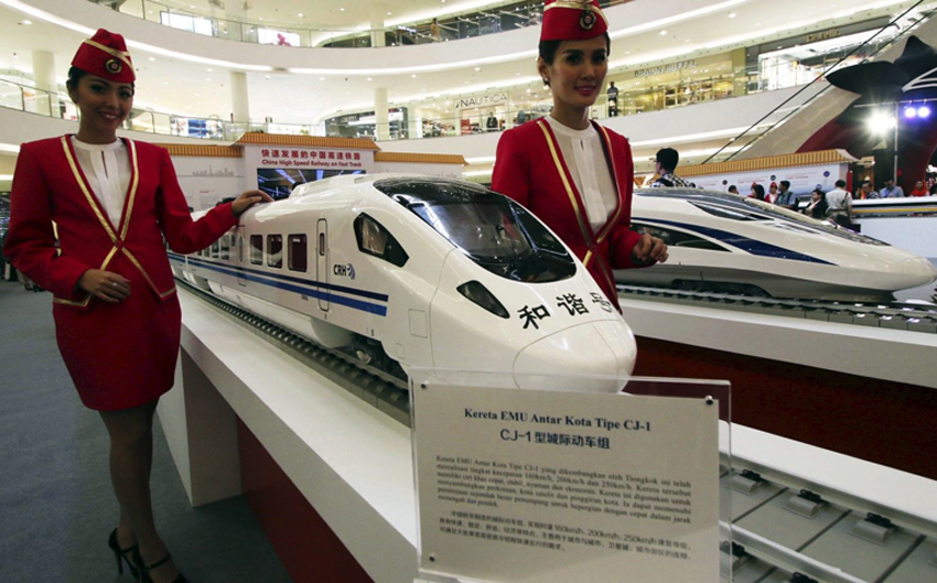 Indonesia kicks off high-speed train project