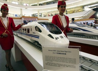 Indonesia kicks off high-speed train project