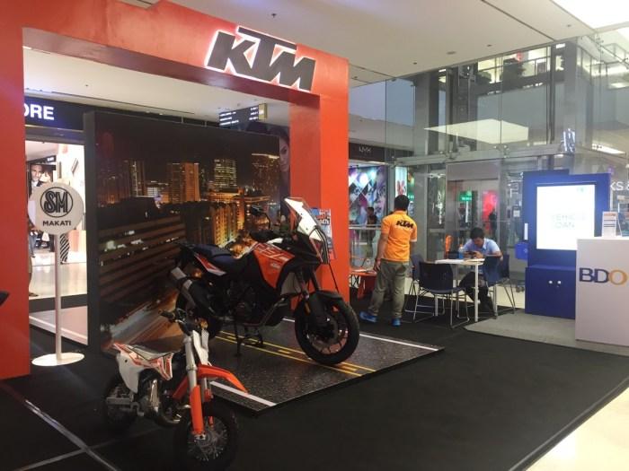 Austrian motorbike maker KTM opens Philippine factory