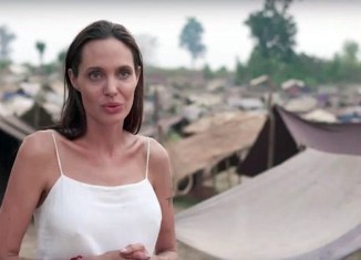 Jolie again under fire for her new Cambodian movie